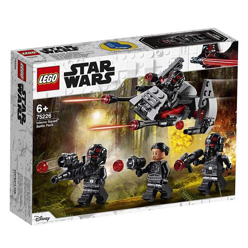 Stavebnice LEGO Star Wars Bojový balíček elitního komanda Inferno, 118 dílků