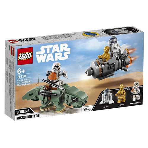 Stavebnice LEGO Star Wars Únikový modul vs. Dewback, 177 dílků