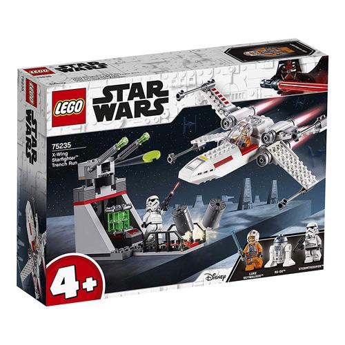 Stavebnice LEGO Star Wars Útěk z příkopu se stíhačkou X-Wing, 132 dílků