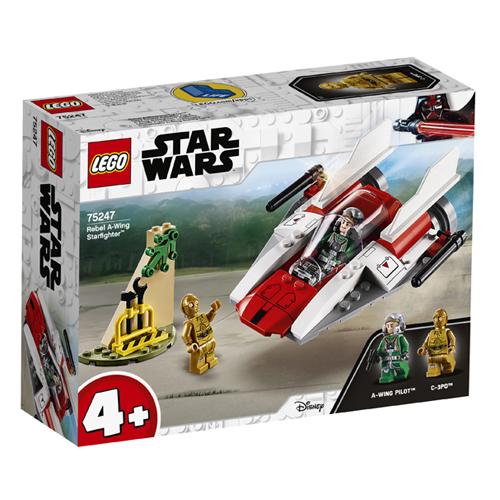 Stavebnice LEGO Star Wars Povstalecká Stíhačka A-Wing, 62 dílků