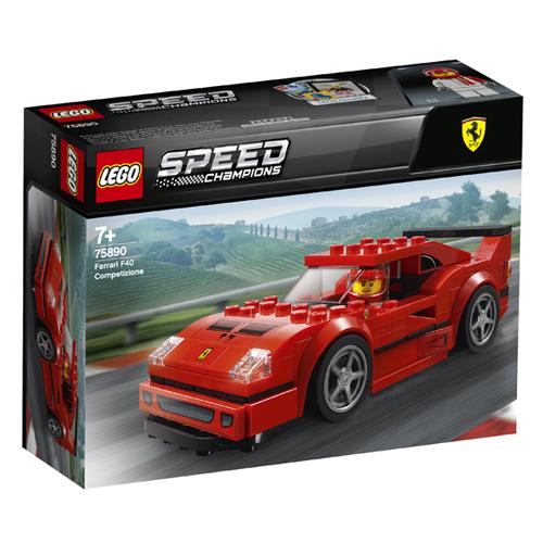 Stavebnice LEGO Speed Champions Ferrari F40 Competizione, 198 dílků