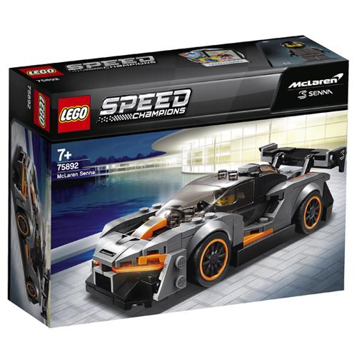 Stavebnice LEGO Speed Champions McLaren Senna, 219 dílků