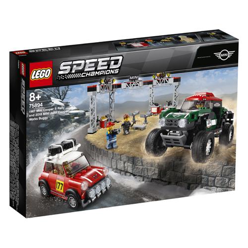 Stavebnice LEGO Speed Champions 1967 Mini Cooper S Rally a 2018 MINI John Cooper Works Buggy