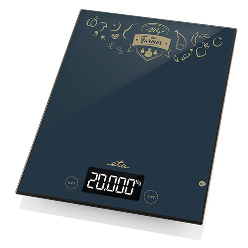 Váha kuchyňská ETA Farmer 4777 90000, černá, 1g-20kg,