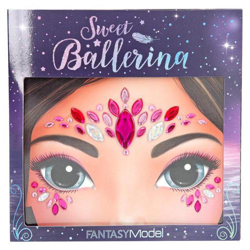 Kamínky na obličej Fantasy Model ASST Sladká balerína