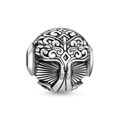 """Korálek """"Strom lásky"""" Thomas Sabo K0320-637-21, Karma Beads, 925 Sterling silver, blackened"""
