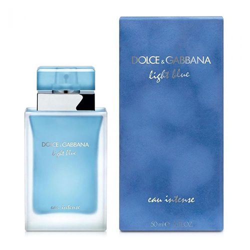 Dolce & Gabbana D&G Light Blue Eau Intense Pour Femme Edp Spray | 50 ml