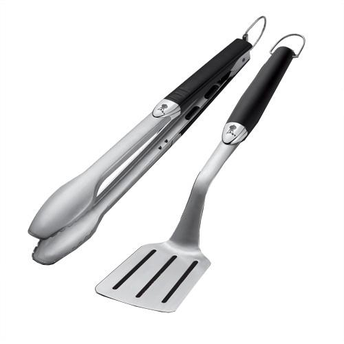 Grilovací náčiní Premium Weber 2-dílné, dlouhé, nerezová ocel