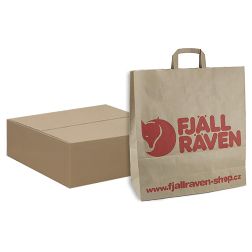Fjällräven Fjallraven Paper Bag LARGE (150pcs) 450x170x480 cm | VELKÁ | 150ks box