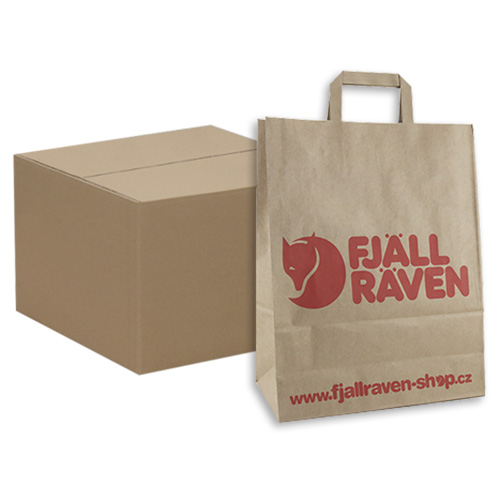 Fjällräven Fjallraven Paper Bag MEDIUM (250pcs) 320x130x405 cm | STŘEDNÍ | 250ks box