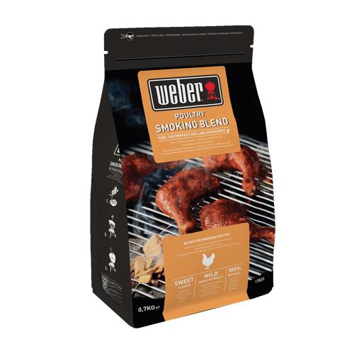 Udící lupínky Weber Na drůbež, dřevěné, 700 g