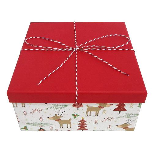 Dárková krabička Idena Veselé Vánoce, 22.5 x 11.5 cm