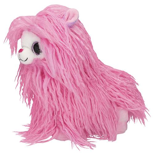 Plyšák Snukis Polly, růžová, 21 cm