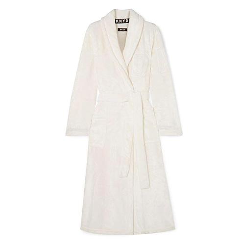 Župan DKNY Signature Robe | Bílá | XS