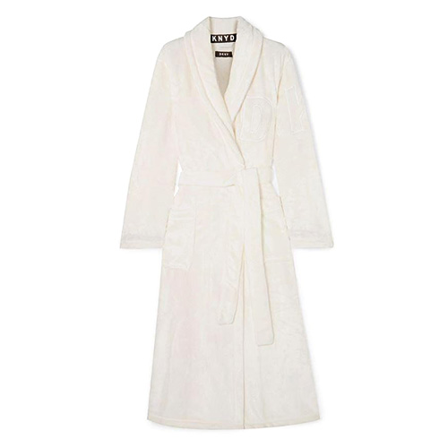 Župan DKNY Signature Robe | Bílá | L