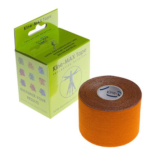 Kinemax Kinesiologický tejp Kine-MAX Super-Pro rayon | Oranžová | 5 cm x 5 m