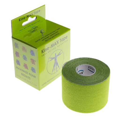 Kinemax Kinesiologický tejp Kine-MAX Super-Pro rayon | Zelená | UNIVERZÁLNÍ
