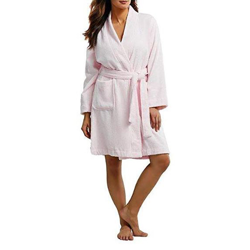 Župan Ralph Lauren The Greenwich Robe | Růžová | M
