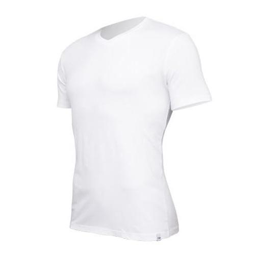 Tričko Tufte V-neck White BÍLÁ Muži | v-neckw | BÍLÁ | L