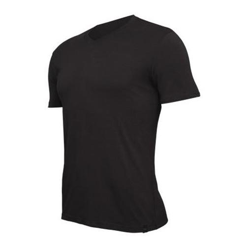 Tričko Tufte V-neck Black ČERNÁ Muži | v-neckb | ČERNÁ | L