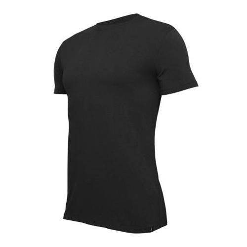 Tričko Tufte U-neck Black ČERNÁ Muži | u-neckb | ČERNÁ | L