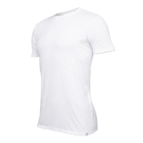 Tričko Tufte U-neck White | Bílá | L