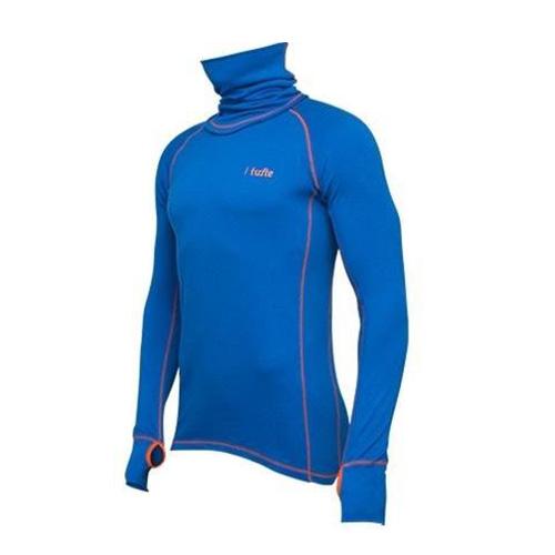 Tufte Sportsneck Nautical Blue/Flame MODRÁ Muži | sportsneckblue | MODRÁ | L