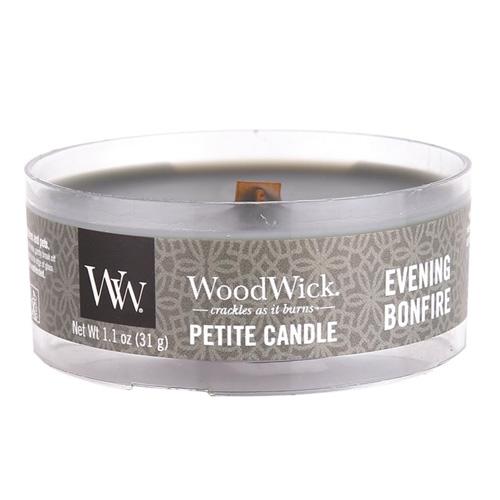 Drobná svíčka WoodWick Večer u táboráku, 31 g