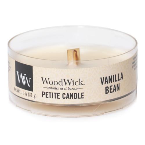 Drobná svíčka WoodWick Vanilka, 31 g