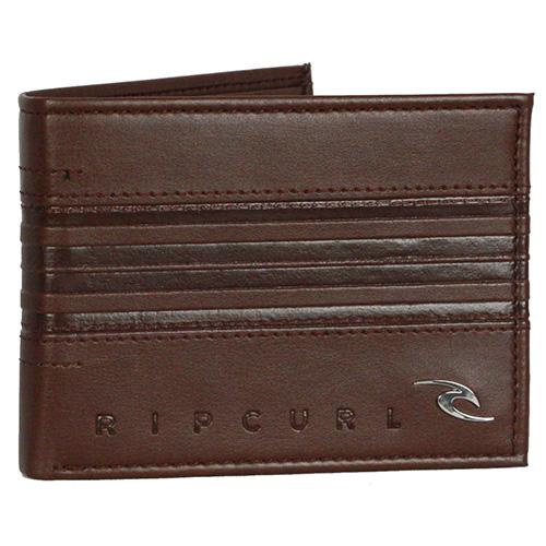 RAPTURE BOSS PU ALL DAY Rip Curl   pánské   peněženka   Brown    TU