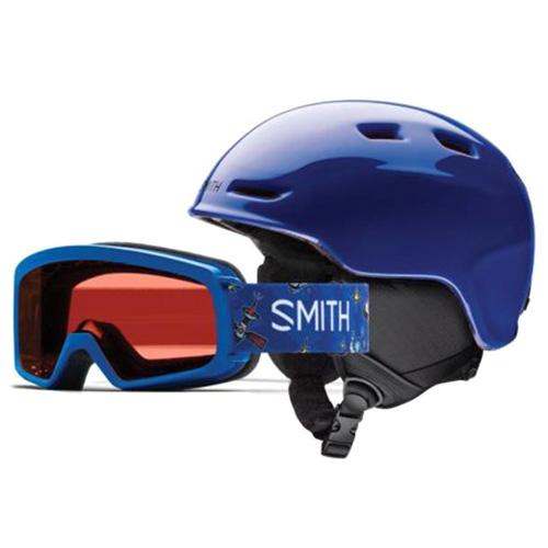 ZOOM JR/RASCAL Smith   dětské   helma + brýle   Cobalt   4853