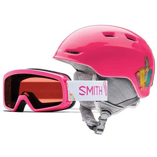 ZOOM JR/RASCAL Smith   dětské   helma + brýle   Pink Popsicles   4853