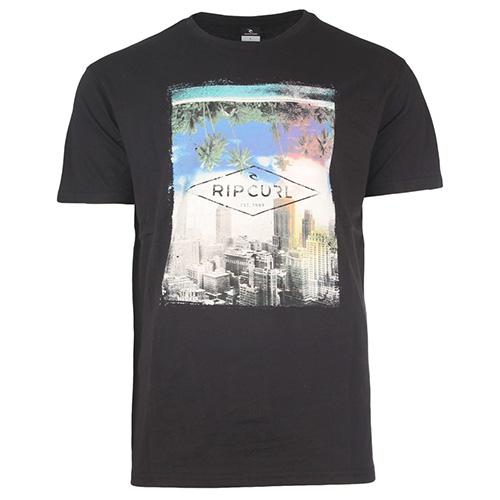 GD/BD TEE Rip Curl | pánské | tričko | Black  | S