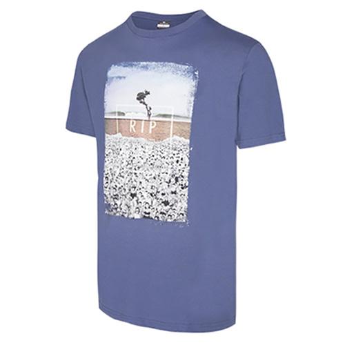 ITS TEE 182 Rip Curl | pánské | tričko | Blue Indigo  | S
