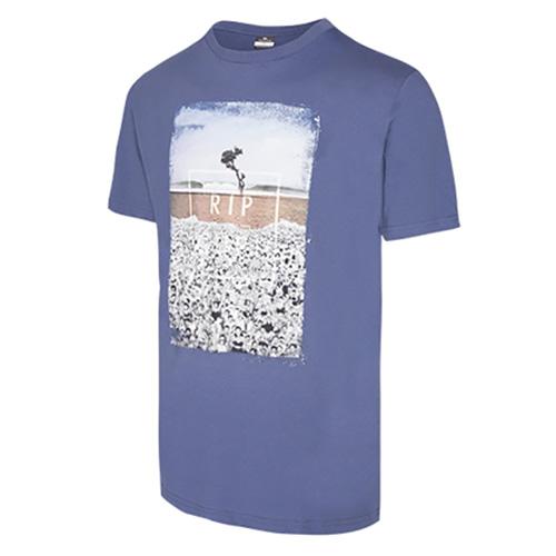 ITS TEE 182 Rip Curl | pánské | tričko | Blue Indigo  | XL