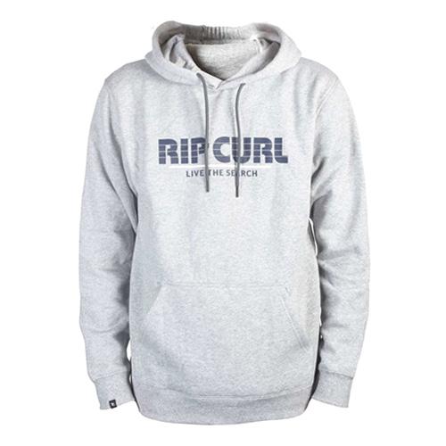 MAMASTRIPES HOODED FLEECE Rip Curl | pánské | mikina | Cement Marle  | XL