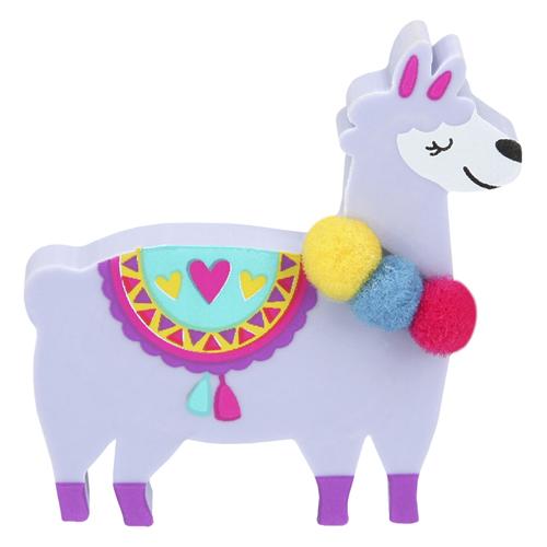 Gumovací pryž Top Model ASST Fialová lama