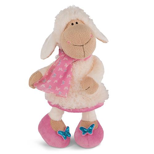 Plyšová ovečka Nici Jolly Journey, 35 cm