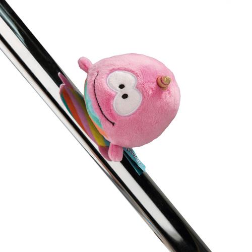 Plyšová magnetka Nici Jednorožec Rainbow Bubble, 12 cm