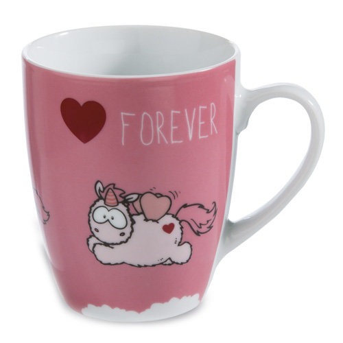 "Hrnek Nici Merry Heart ""Forever"", 310 ml"