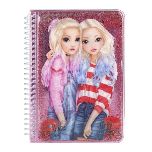 Zápisník Top Model ASST June a Jill, růžový