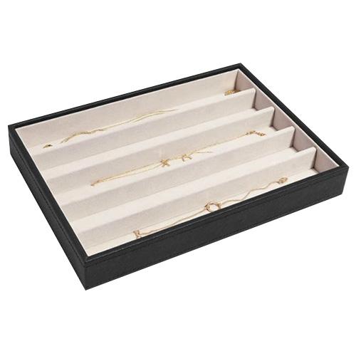 Stackers Patro šperkovnice Stacker Černá/béžová | Jewellery Box Layers Classic