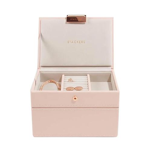 Stackers Šperkovnice Stacker Světle růžová/béžová | Jewellery Box Set Mini