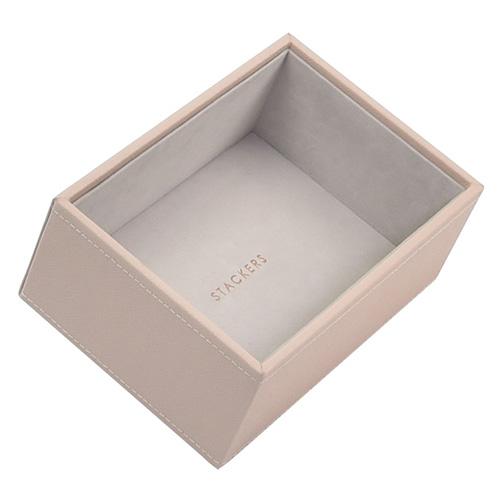 Stackers Patro šperkovnice Stacker Světle růžová/béžová | Jewellery Box Layers Mini