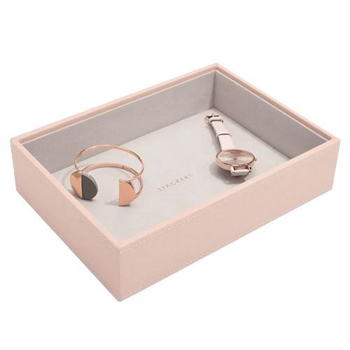 Stackers Patro šperkovnice Stacker Světle růžová/béžová | Jewellery Box Layers Classic