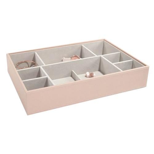 Stackers Patro šperkovnice Stacker Světle růžová/béžová | Jewellery Box Layers Supersize