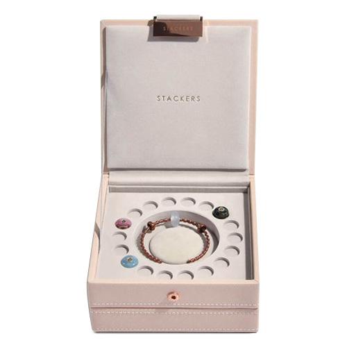 Stackers Šperkovnice Stacker Světle růžová/béžová | Charm Jewellery Box