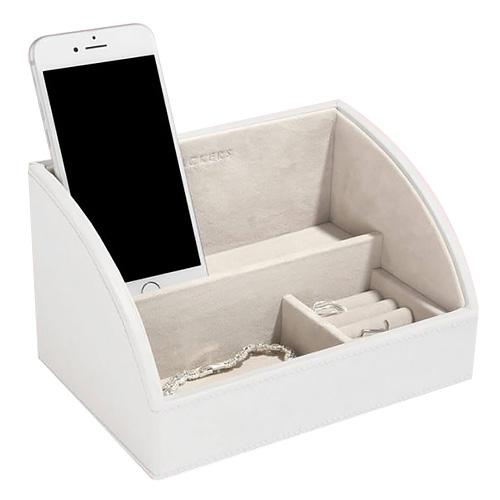 Stackers Šperkovnice Stacker Bílá/béžová   Jewellery Box Layers Mini