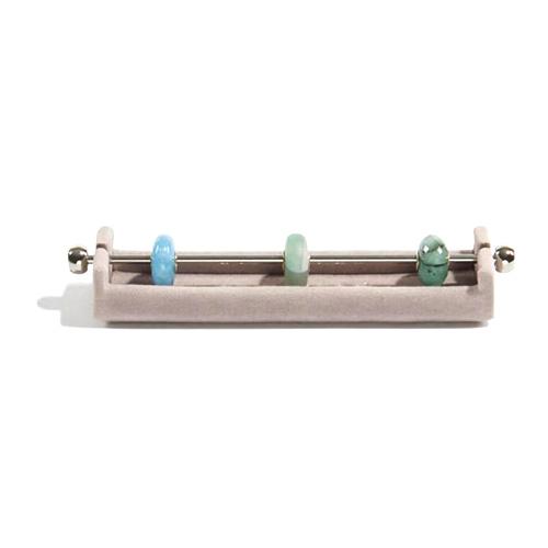 Držák na korálky Stackers Norkový, Charm Bar, 2.5 x 11.5 x 2 cm
