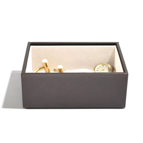 Stackers Patro šperkovnice Stacker Norková/béžová | Jewellery Box Layers Mini